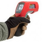 Intrinsically safe infrared thermometer