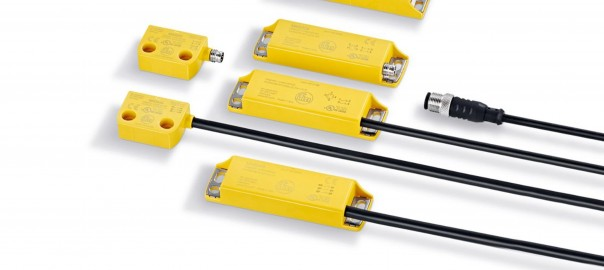 ifm's non-contact magnetic sensors add security and safety.
