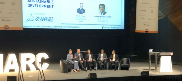 The panel of CEOs at IMARC.