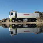 Scania's autonomous truck at Dampier Salt.