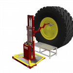 Lift assist stand takes safety, efficiency to new heights